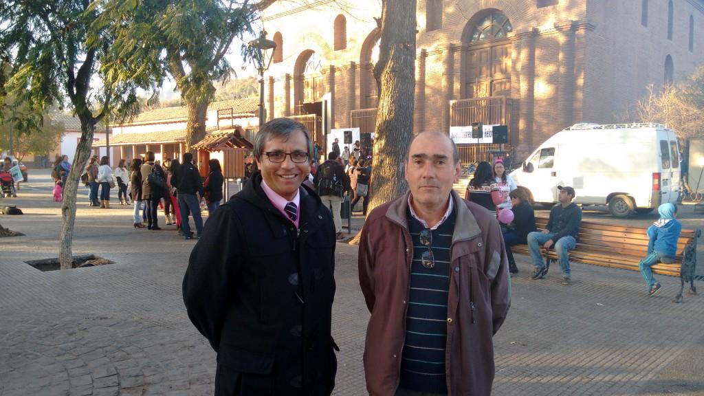 Jefe Daem Patricio Moreno y Mario Herrera